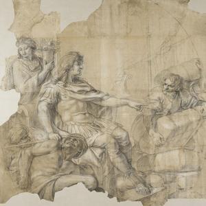 Le Rétablissement de la navigation by Charles Le Brun