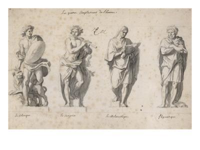 Les Quatre complexions de l'homme