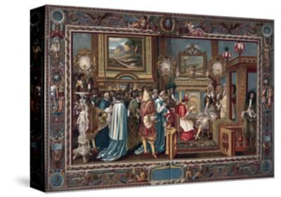 Louis XIV's Audience to the Papal Ambassador Sigismondo Chigi, 29 July 1664
