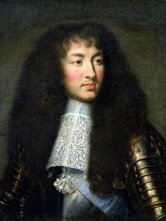 Portrait of Louis XIV (1638-1715) by Charles Le Brun