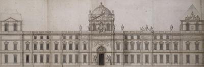 Projet pour la façade orientale du Louvre