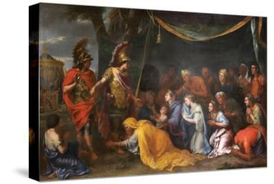 The Queens of Persia at the Feet of Alexander (The Tent of Dariu), 1661