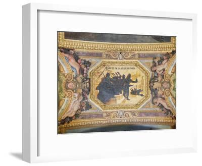 The Resistance of Paris, Ceiling Painting from the Galerie Des Glaces