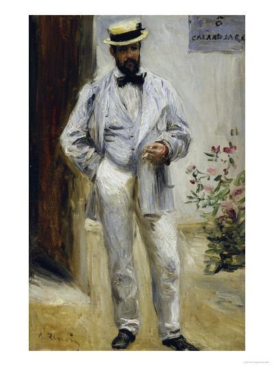 Charles Le Coeur, c.1874-Pierre-Auguste Renoir-Giclee Print