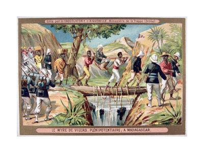 Charles Le Myre De Vilers, Resident General of Madagascar, 19th Century--Giclee Print