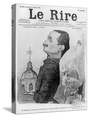 Caricature of Paul Deschanel, from 'Le Rire', 10 February 1900