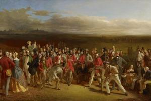 The Golfers, 1847 by Charles Lees