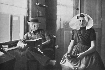 A Dutchman and his wife, 1912