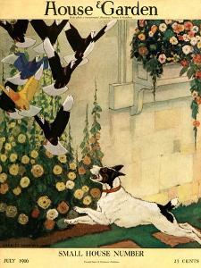 House & Garden Cover - July 1916 by Charles Livingston Bull