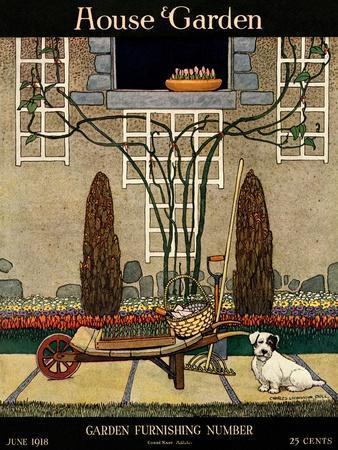 House & Garden Cover - June 1918