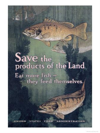 United States Food Administration Advisory: Save the Products of the Land