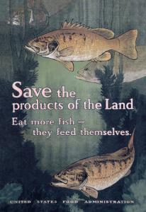 United States Food Administration Advisory: Save the Products of the Land by Charles Livingston Bull