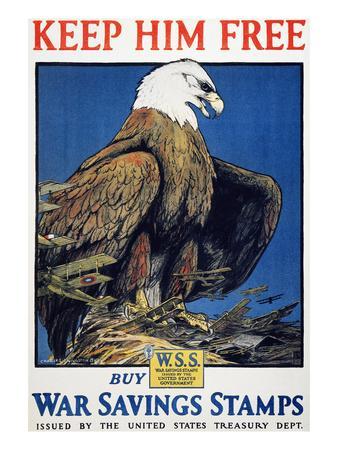 World War I: Saving Stamps