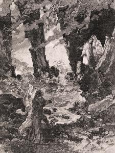 Prologue of Francesca Da Rimini by Charles Louis Ambroise Thomas