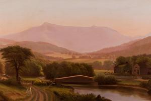 Mount Mansfield, Vermont, 1850-1890 by Charles Louis Heyde