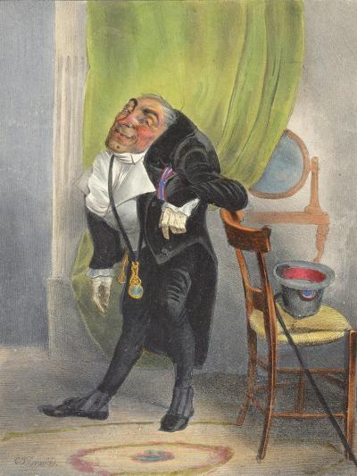 Charles Louis Philippe Henri Dieudonne Mayeux-Charles Joseph Travies De Villiers-Giclee Print