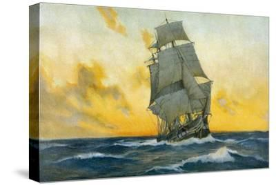 British Warship of the Napoleonic Era