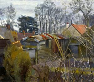 Outhouses by Charles Mahoney