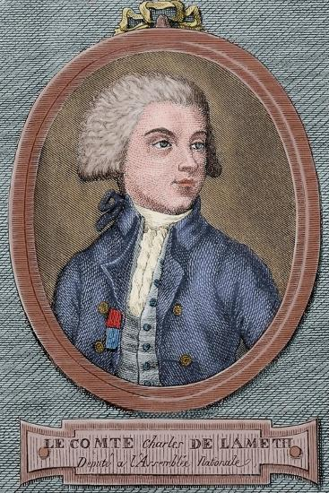 Charles Malo De Lameth (1757-1832)--Giclee Print