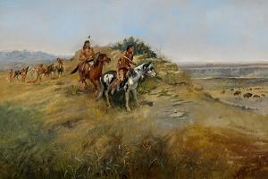 Buffalo Hunt, 1891 by Charles Marion Russell