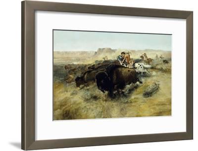 Buffalo Hunt No. 7, 1892-1895