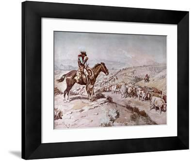 Cattle Drive, 1898