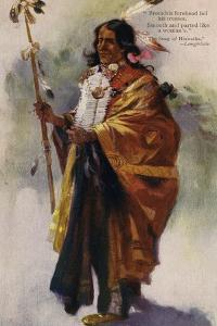 Hiawatha by Charles Marion Russell
