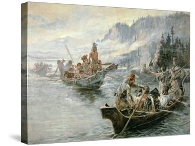 Lewis and Clark on the Lower Columbia River, 1905