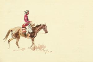 Navajo Rider by Charles Marion Russell