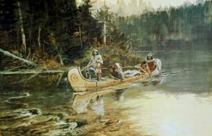 On The Flathead by Charles Marion Russell