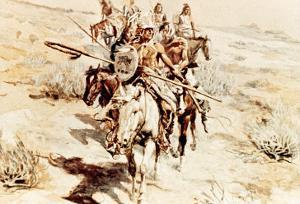 Return of the Warriors, 1906 by Charles Marion Russell