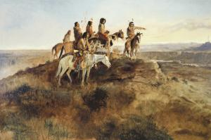 Signal Smoke by Charles Marion Russell