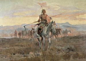 Stolen Horses, 1911 by Charles Marion Russell
