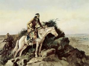 The Lookout by Charles Marion Russell