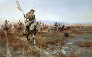 The Medicine Man by Charles Marion Russell
