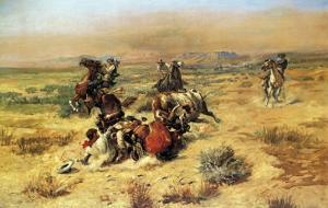 The Strenous Life by Charles Marion Russell