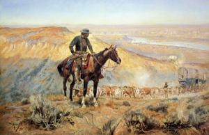The Wagon Boss by Charles Marion Russell