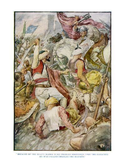 Charles Martel--Giclee Print