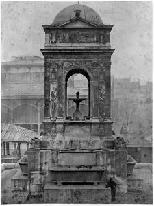 Fontaine Des Innocents, 1547 by Charles Marville