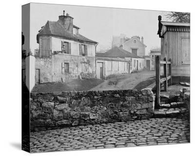 Paris, 1865 - The Impasse de l'Essai at the Horse Market
