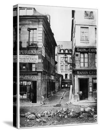 Paris 4 Rue De Breteuil, View Taken from Rue Reaumur Towards Rue Vaucanson, 1858-78