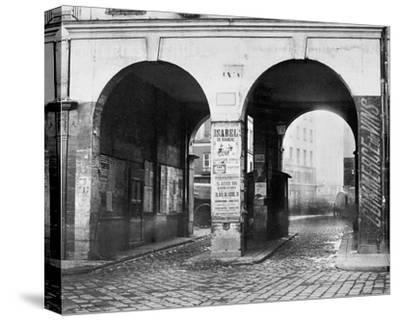 Paris, about 1865 - The Double Doorway, rue de la Ferronnerie