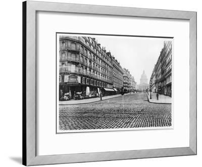 Paris, Rue Soufflot, the Pantheon, 1858-78