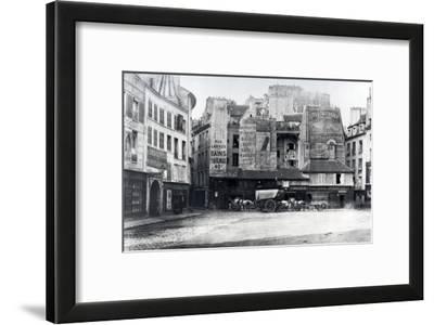 Place Saint-Andre-Des-Arts, Paris, 1858-78