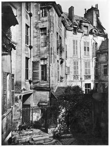 Rohan Courtyard, Paris, 1858-78 by Charles Marville