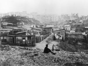 Rue Champlain, a Group of Huts, 1858-78 by Charles Marville