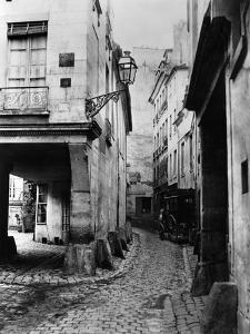Rue Chanoinesse, from Rue Des Chantres, Paris, 1858-78 by Charles Marville