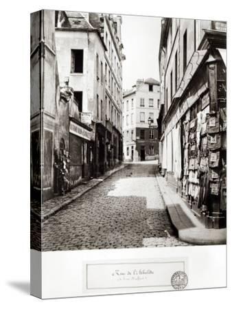 Rue de L'Arbalete, from the Rue Mouffetard, Paris, 1858-78