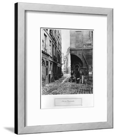 Rue Des Marmousets, from Rue Saint-Landry, Paris, 1858-78