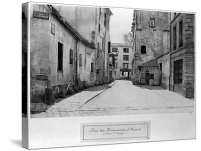 Rue Des Marmousets Saint-Marcel, from Rue Saint-Hippolyte, Paris, 1858-78